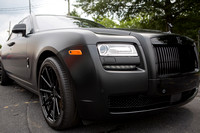 Rolls Royce Ghost Custom Matte Black one of a kind